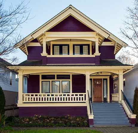 victorian style house exterior painting