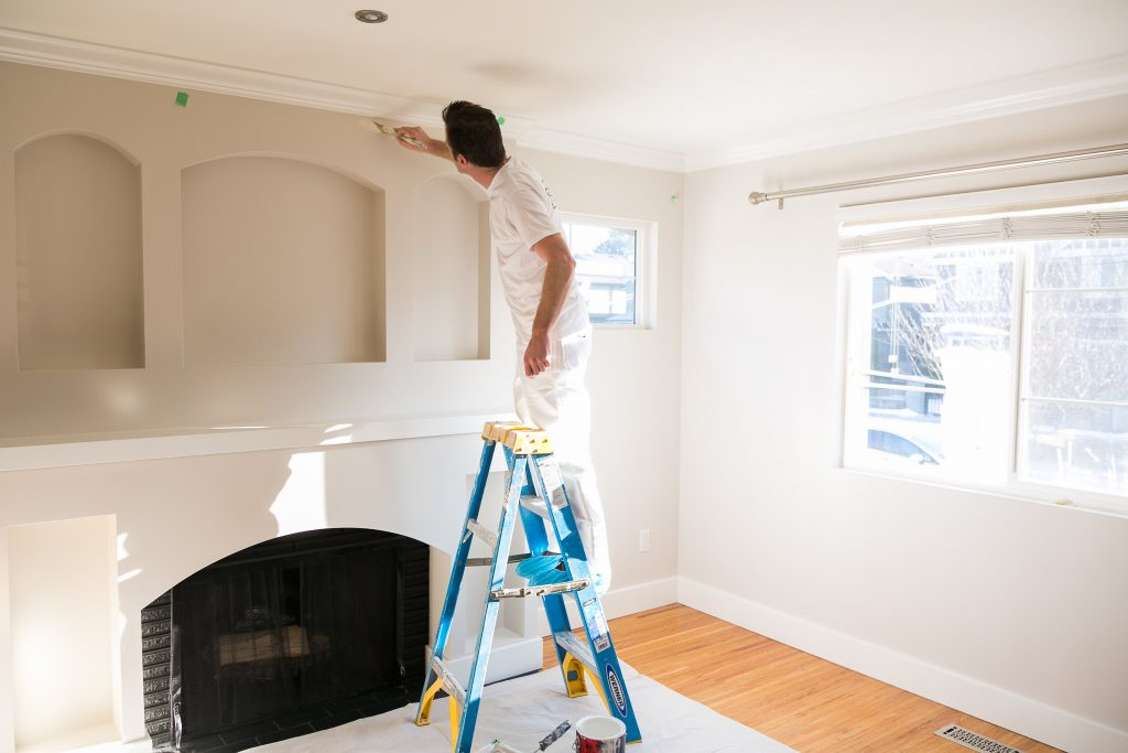 painting a home interior in vancouver, bc